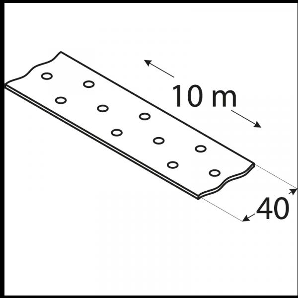 TM2/10 - montážní páska 40x2,0 mm 1