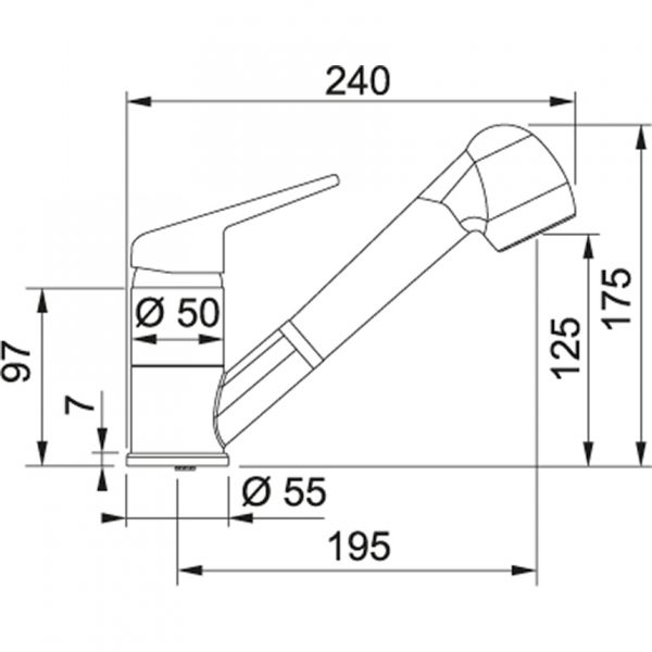 Baterie FC 9547.031 chrom 2
