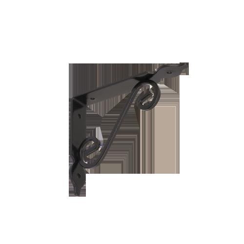 WOZ 150 HB konzole dekorativní kovaná 140x110 gradovaná černá 2