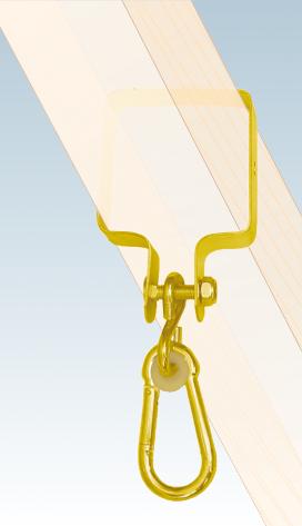 MHK     90  uchycení houpačky se čtvercovou objímkou 90*90 mm