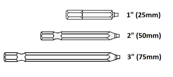 Bit Uniquadrex R-1/3 exdlou 75mm - HOBBY 1