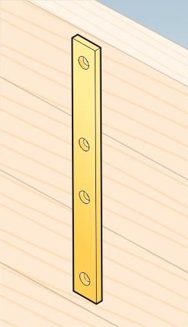 LW5 – spojka úzká 193x24x4,0 mm