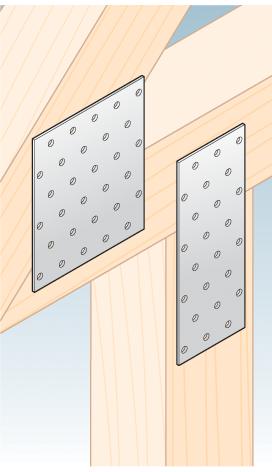PP6 - destička perforovaná 160x60x2,0 mm 2