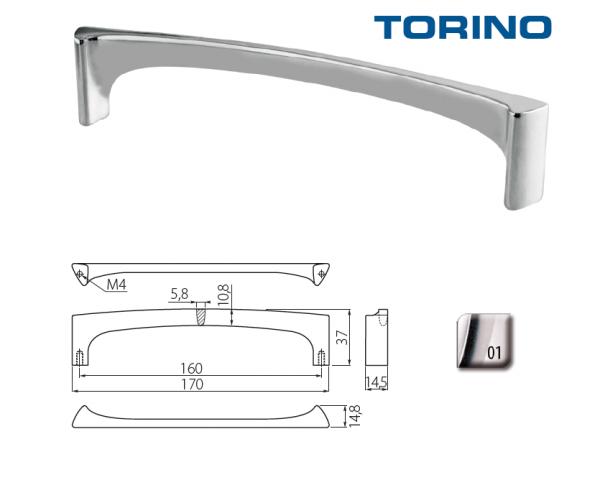 Uch. UZ-TORINO-160-01 chrom doprodej 1