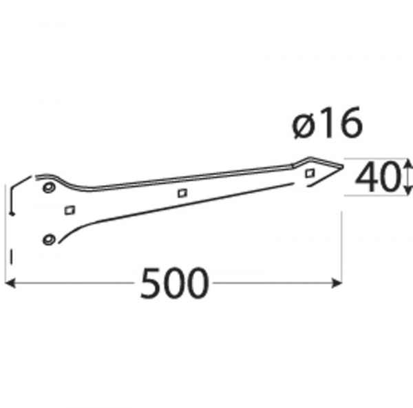 ZABW 600 Závěs vratový dekorační 600x4 1
