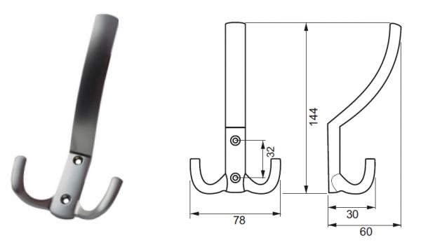 Vesak CLv4-WH-BNi nerez c.150 1