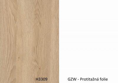 Zadova -Doprodej-H3309 ST28 / GZW – 4100*1310*8mm