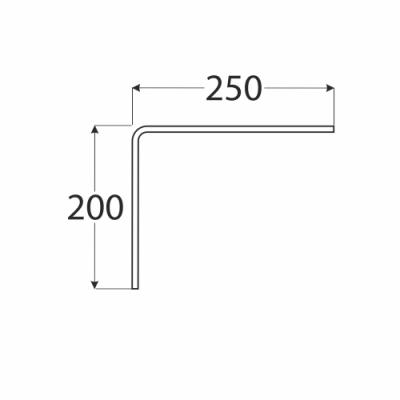 WDGL 250 konzole 200×250 multiplex, buk