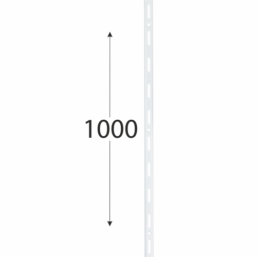 WLS 1000b nosná konzolová lišta jednoduchá 1000 mm bílá 1