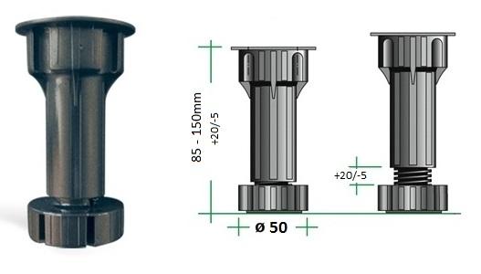 Rekt. nozka 120mm 22.002.120.50 1