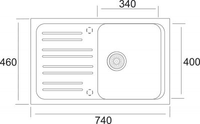 DrezS – SET drez Classic 740 + baterie Capri 4 GR v barvě