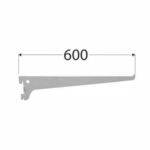 WSS 600s systémová konzola jednoduchá 600 mm šedá 1