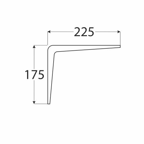 WS 225 1 konzole stavební bílá 175x225 1