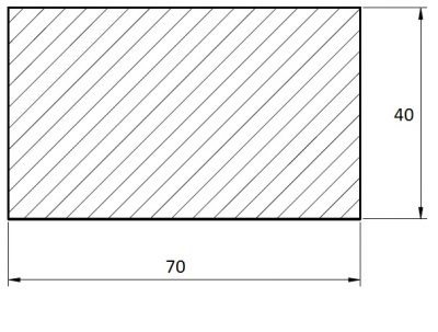 Terasa Evropský mod. 40*70*4000 (4m)
