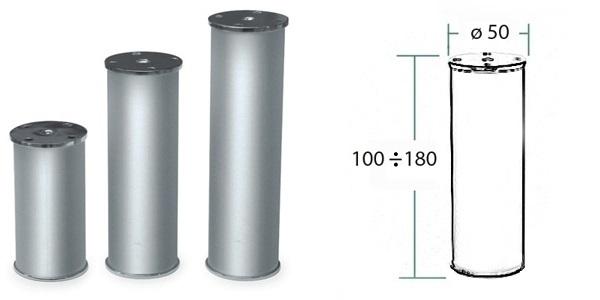 Nozka kov 17.V23E.510.09 100*50mm AL 1