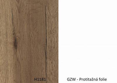 Zadova -Doprodej- H1181 ST37 / GZW – 4100*1310*8mm