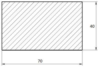 Terasa Sib. mod. 45*70*4000 (4m) hladký