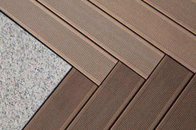 Terasy - dřevo a WPC