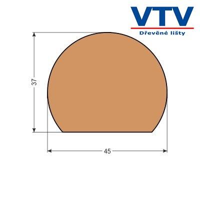 Madlo dřevěné MT 4537   2,5m  c.89
