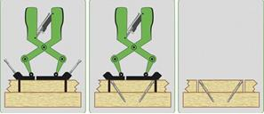MONTÁŽNÍ NÁŘADÍ ESSVE HDS - skvělý nástroj pro neviditelné spoje. Rychlá a snadná montáž terasových prken. 5