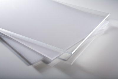 PLEXIGLAS  4mm XT čirá deska   1000 x 1000 mm